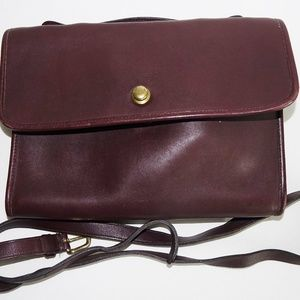 Vintage Coach Avenue Shoulder Bag Spring Lock